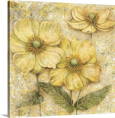 Serene Garden - Yellow Floral