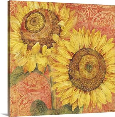 Sunflowers, Orange