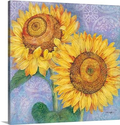 Sunflowers, Purple
