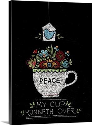 Teacup - Peace