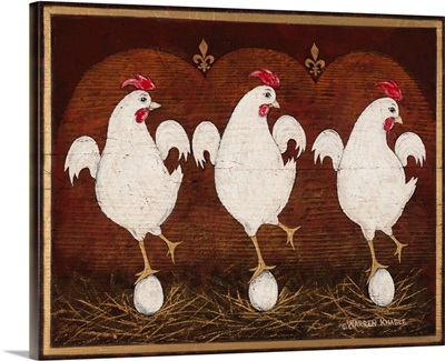 The Twelve Days of Christmas - Three French Hens