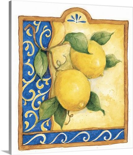 Tuscan Lemon Wall Art, Canvas Prints, Framed Prints, Wall Peels ...