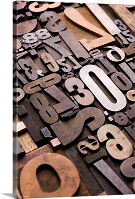 Typography Bronze