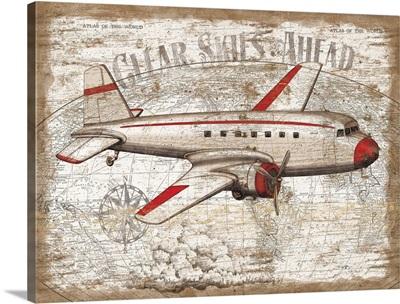 Vintage Travel - Airplane