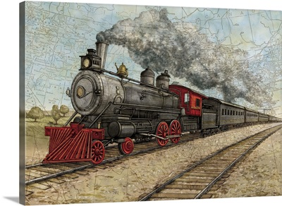 Vintage Travel - Train