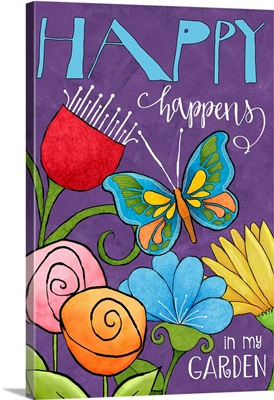 Whimsical Garden - Happy Happens