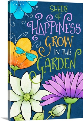 Whimsical Garden - Seeds of Happiness
