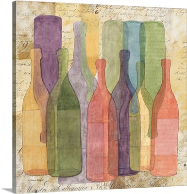 Wine Bottle Montage