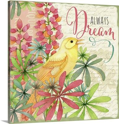 Winged Garden - Bird