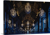 Halls Of Mirrors, Chateau De Versailles, France
