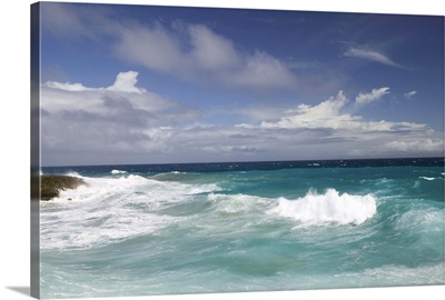 ABC Islands, Aruba, Arikok National Wildlife Park, Seashore at Boca Prins