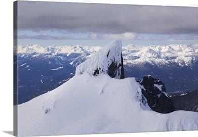 Aerial View Of Black Tusk Near Whistler, British Columbia, Canada
