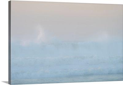 Africa, Morocco, Asilah, Ocean Waves On Shore