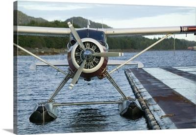 Alaska, Southeast Alaska, Ketchikan, Tongass Narrows, Ketchikan Seaplane Airport