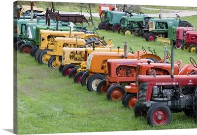 Antique Farm Tractors, Manchester, Vermont