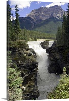 Athabasca Falls, Jasper National Park Alberta, Canada
