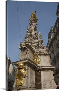 Austria Vienna Trinity Column Monument To Victims Of