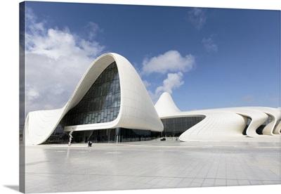 Azerbaijan, Baku. The Heydar Aliyev Center in Baku