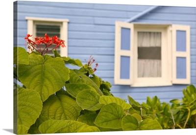 Bahamas, Abacos, Loyalist Cays, Elbow Cay, Hope Town, Beach House Detail
