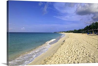 Baie Longue Long Bay beach, St. Martin, Caribbean