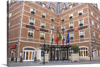 Belgium, Brussels-Capital Region, Brussels, Brussel, Bruxelles, Hotel Amigo