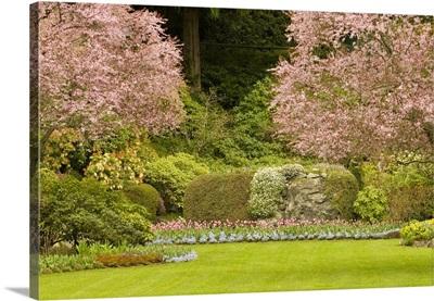 British Columbia, Butchart Gardens, Sunken gardens, Restored limestone quarry