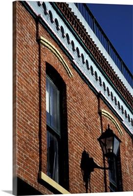 British Columbia, Victoria,. Historic building facade