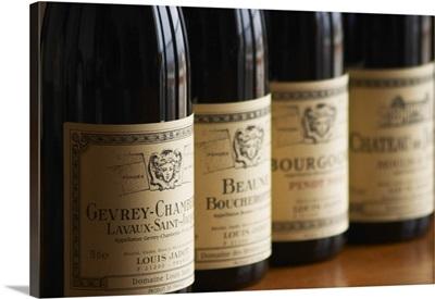 Burgundy wine from maison Louis Jadot Gevrey Chamberting, France