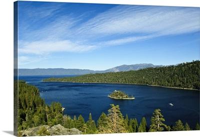 California, Lake Tahoe scenic
