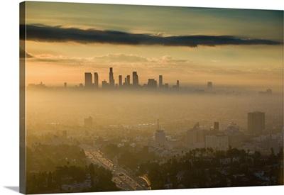 California, Los Angeles, Downtown: Dawn