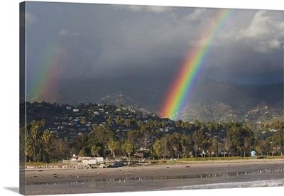 California, Southern California, Santa Barbara, Chase Palm Beach and rainbow