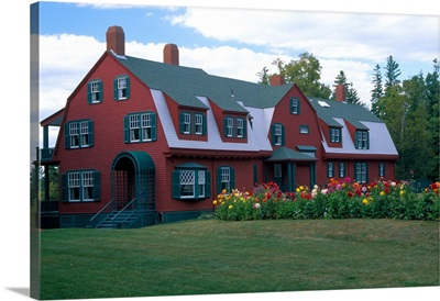Canada, Campabello Island. Summer home of Franklin Roosevelt