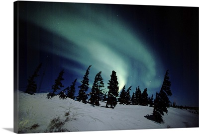 Canada, Manitoba, Churchill, Northern Lights, Aurora Borealis