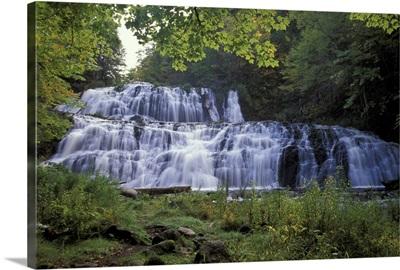 Canada, Nova Scotia, Cape Breton, Cabot Trail, Egypt waterfalls