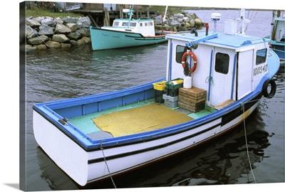 Canada, Nova Scotia. Lobster boats