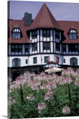 Canada, Nova Scotia, St. Andrews by the Sea. The Algonquin Hotel