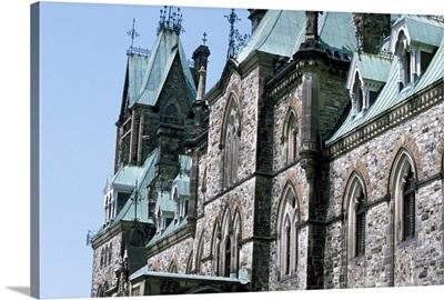 Canada, Ontario, Ottawa. Parliament Hill buildings