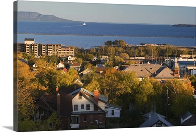 Canada, Ontario, Thunder Bay, Town View from Hillcrest Park