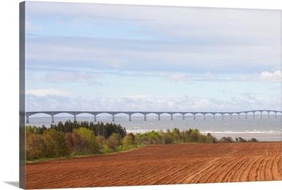 Canada, Prince Edward Island, Borden-Carleton. Confederation Bridge