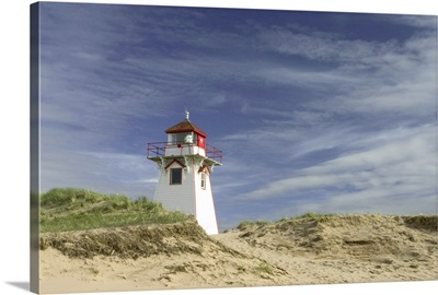 Canada, Prince Edward Island National Park. Cove Head lighthouse