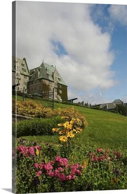 Canada, Quebec, Charlevoix, La Malbaie. The Fairmont Le Manoir Richelieu Hotel