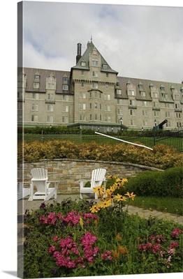 Canada, Quebec, Charlevoix, La Malbaie, The Fairmont Le Manoir Richelieu Hotel