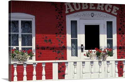 Canada, Quebec, Gaspe. Auberge Rt. 132, Near Riviere du Loup