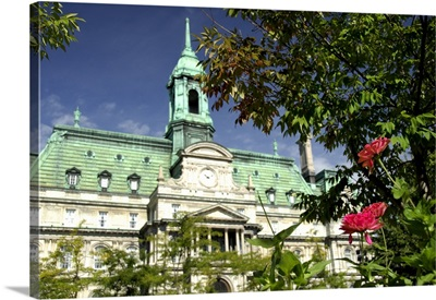 Canada, Quebec, Montreal, Jacques Cartier Square, City Hall