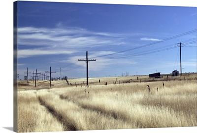 Canada, Saskatchewan, Morse, Prairie Road