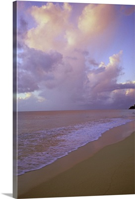 Caribbean, Antigua, sunset at Jolly Beach