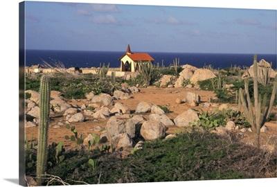 Caribbean, Aruba, Alto Vista Chapel