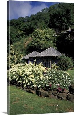 Caribbean, Grenada, Morne Rouge Bay. Laluna Hotel (Island's top resort)
