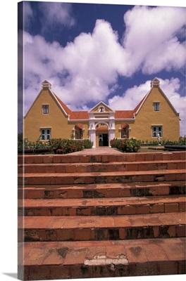 Caribbean, Netherland Antilles, Curacao, Klein Santa Martha plantation house