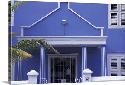 Caribbean, Netherland Antilles, Curacao, Willemstad, buildings in Scharloo area